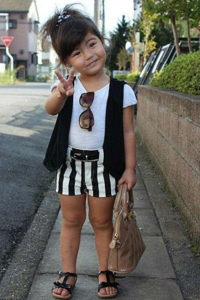 أجمل صور ملابس أطفال بنات لتستلهمي منها إطلالة بناتك في الصيف دنيا الوطن Toddler Fashion Little Girl Fashion Stylish Kids