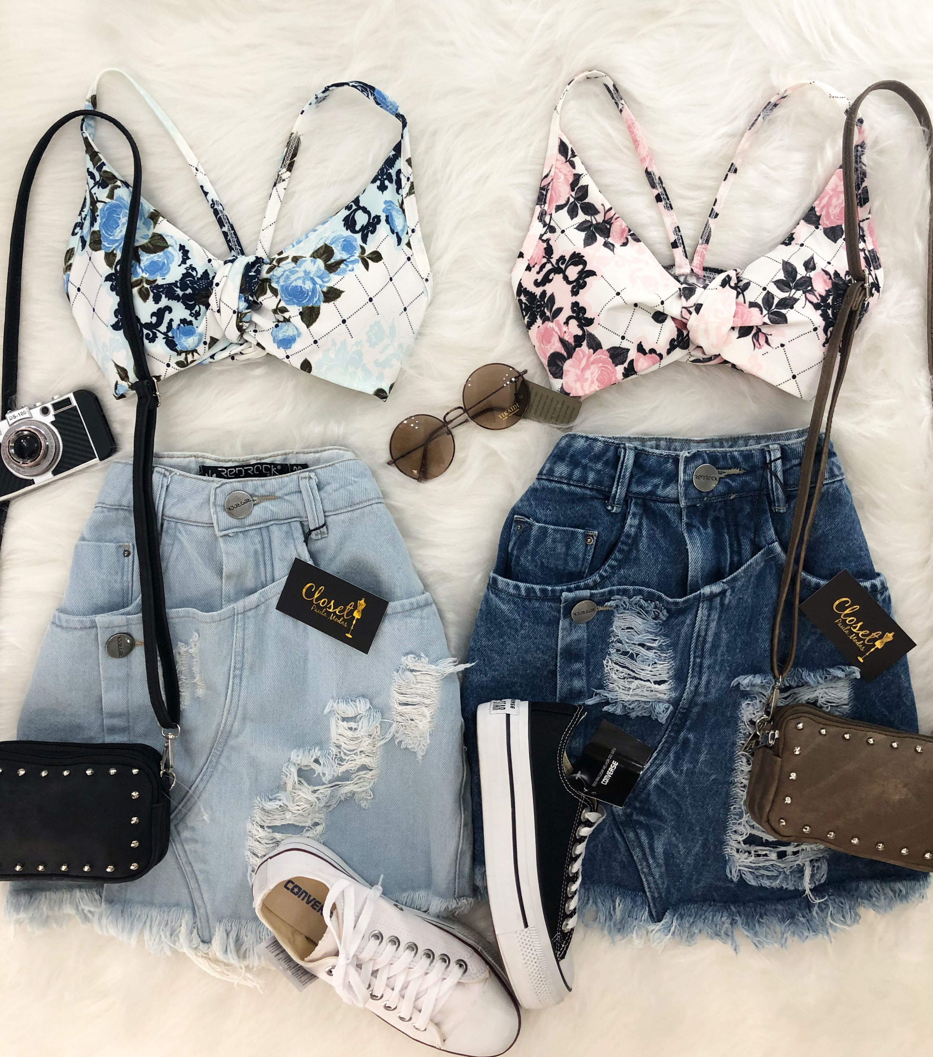 9515e6656 #lookcloset #lookdodia #looks Looks Verão 2018, Vestido Rodados, Joias  Femininas,