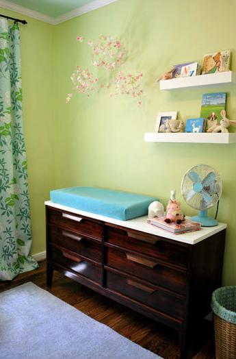 Nursery sneak peek @Sherry @ Young House Love   #BabyCenterBlog
