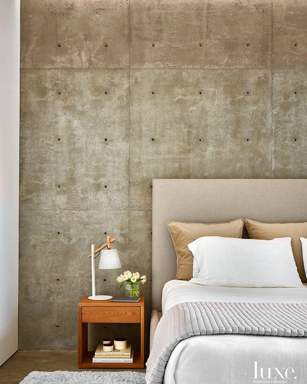 Luxe Interiors Design On Instagram Going Industrial With Concrete Walls Luxeathome Sandow Photo Drorbaldin In 2020 Interior Design Luxe Interiors Furniture