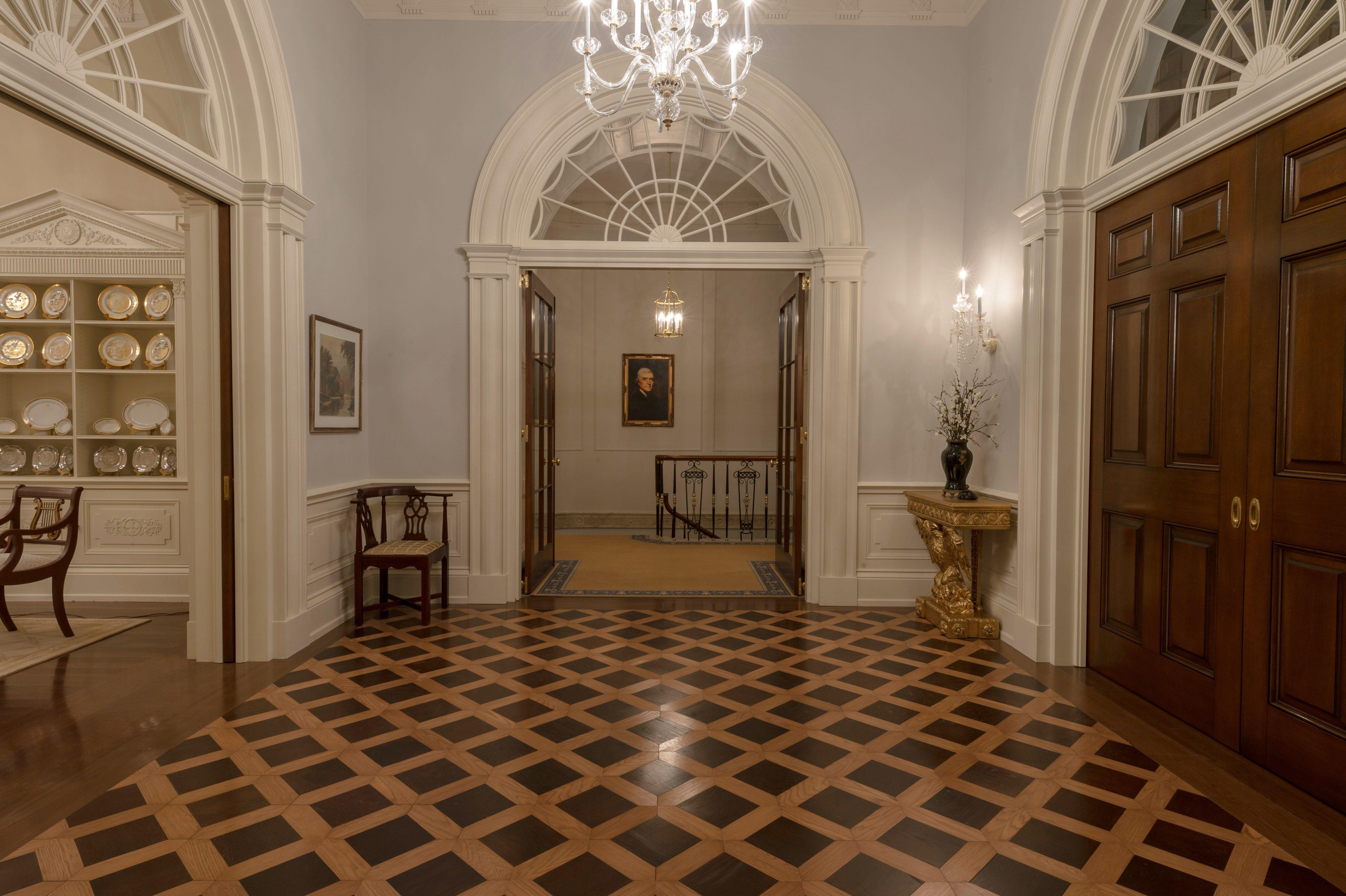 100 the white house interior the white