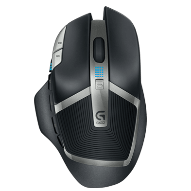 G602 Wireless Gaming Mouse redefines wireless gaming, with