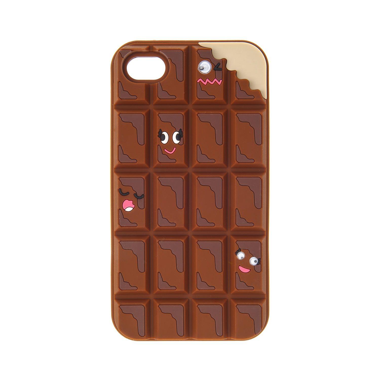 Coque pour t l phone morceaux de chocolat iphones 4 4s - Coque pour tablette ...