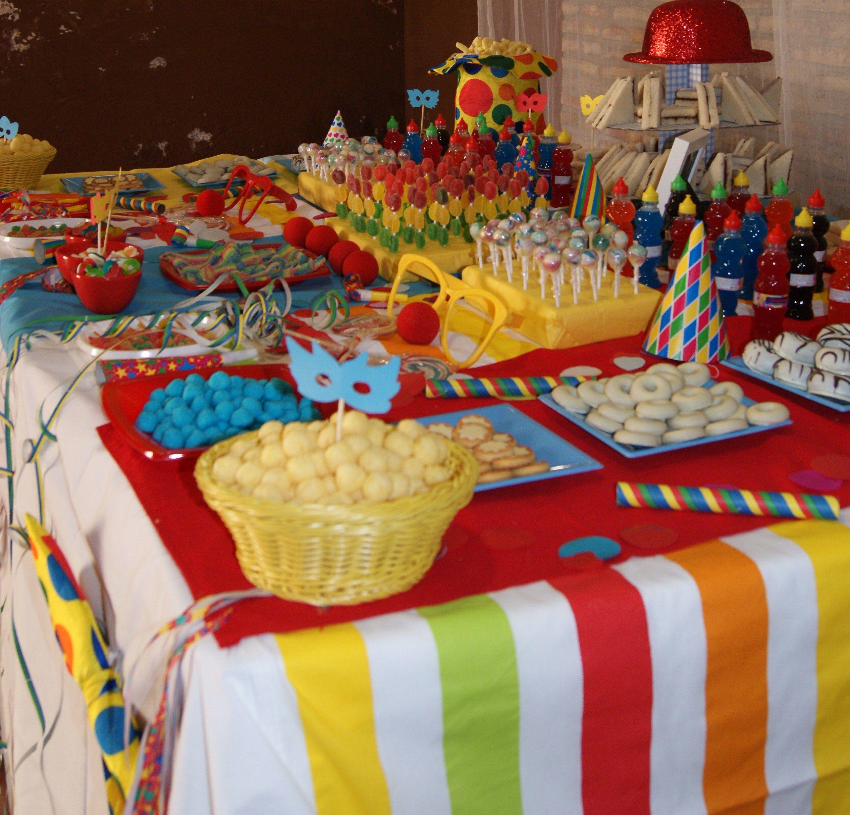 Golosinas dulces y snacks para esta fiesta de carnaval - Decoracion de carnaval ...