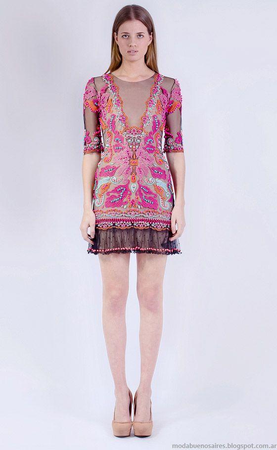 VESTIDOS DE FIESTA 2015 NATALIA ANTOLIN: MODA Y GLAMOUR | Pink dresses