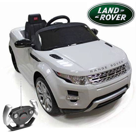 Official Range Rover Evoque 6v Kids Car With Remote 249 95 Kids Electric Cars Little Cars For Little People Range Rover Evoque Land Rover Range Rover