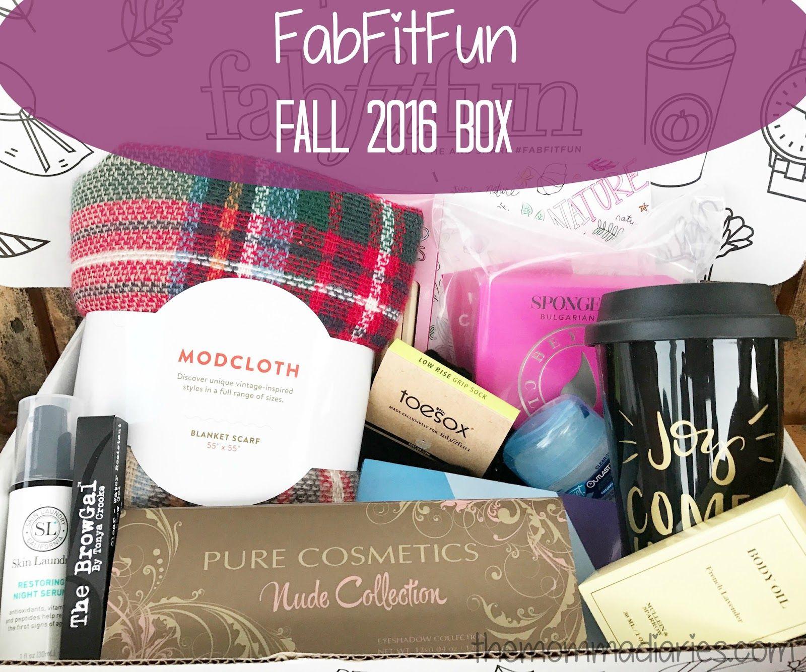 Fabfitfun fall 2016 box review promo code solutioingenieria Image collections