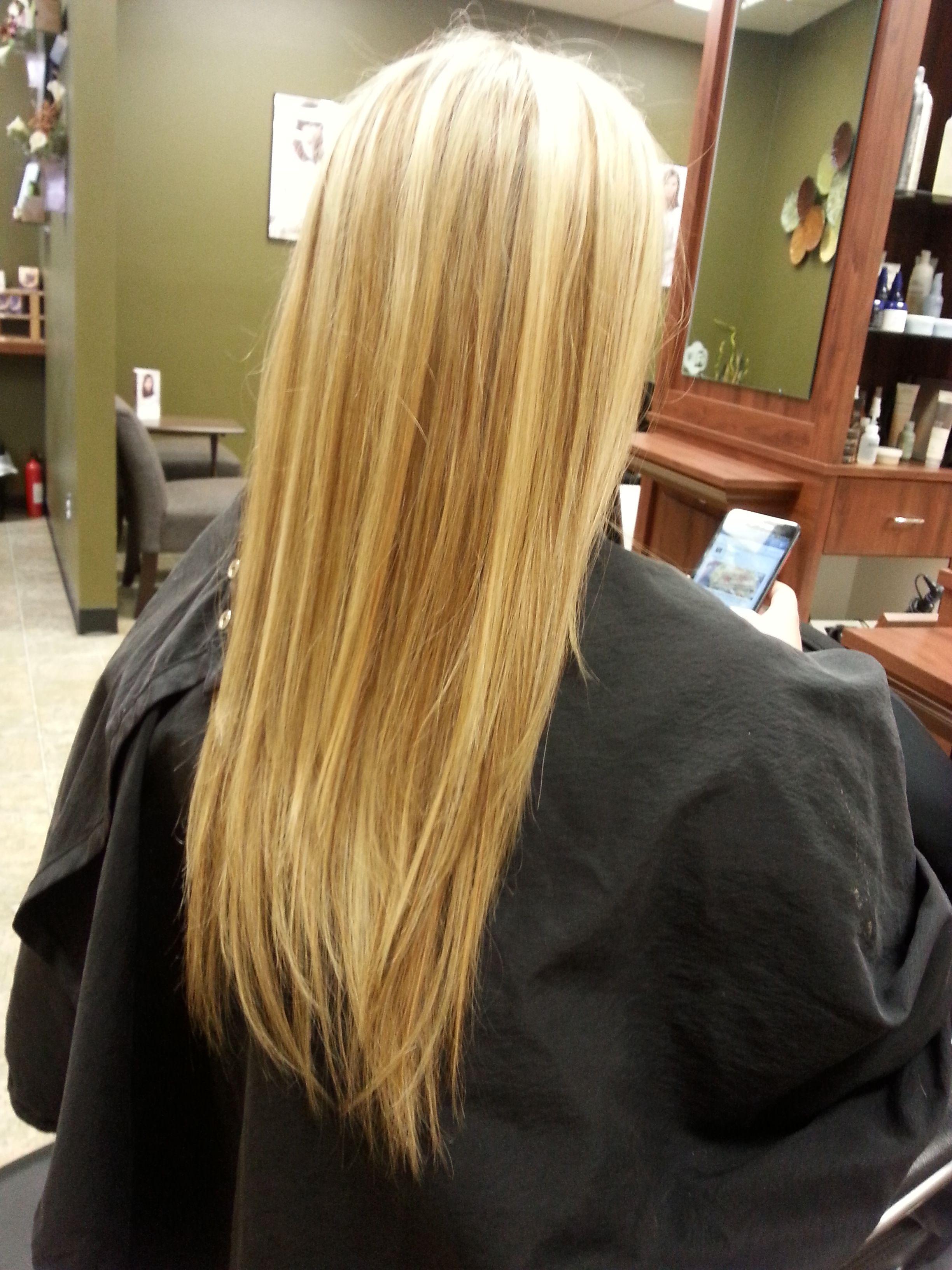 Gorgeous Dimensional Long Blonde Hair Aveda Color Boxed Hair