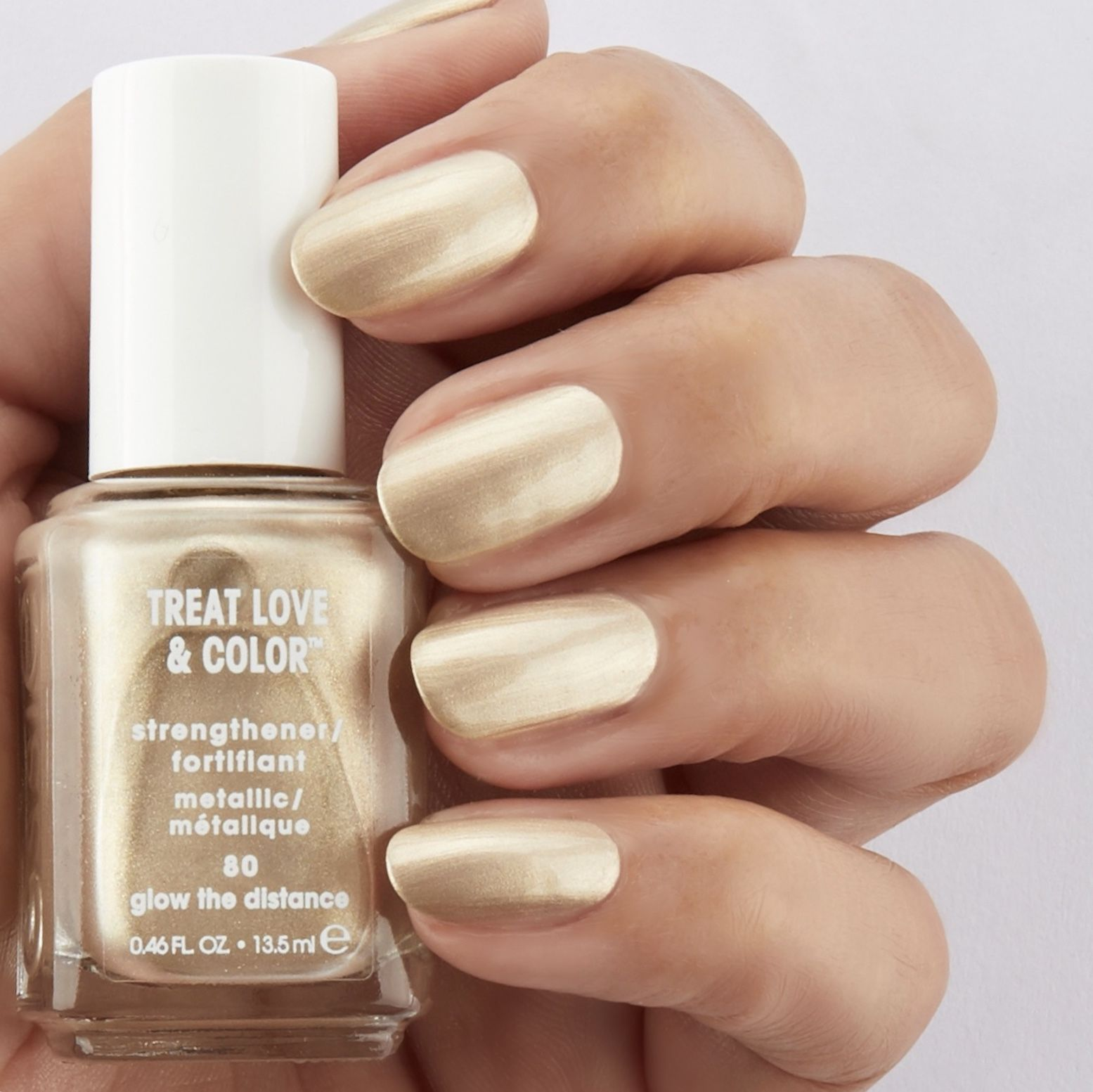 Essie Metallic Gold Nail Polish: Introducing New Essie Treat Love And Color Metallic Shade
