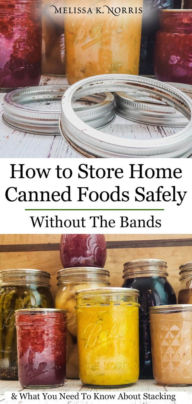 How To Store Home Canned Food Safely Jar Stacking Canning