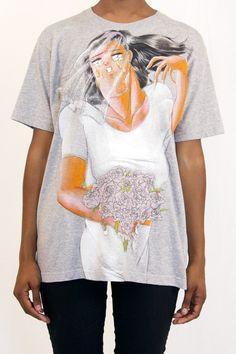 Julien Ceccaldi: Bridal Hair Flip T-shirt