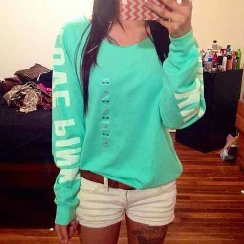 Vs pink sweater\u003c3