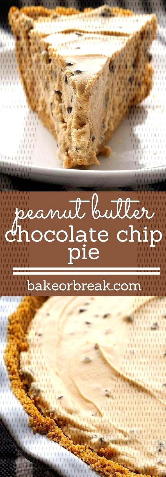 Food Photography: Peanut Butter-Chocolate Chip Pie