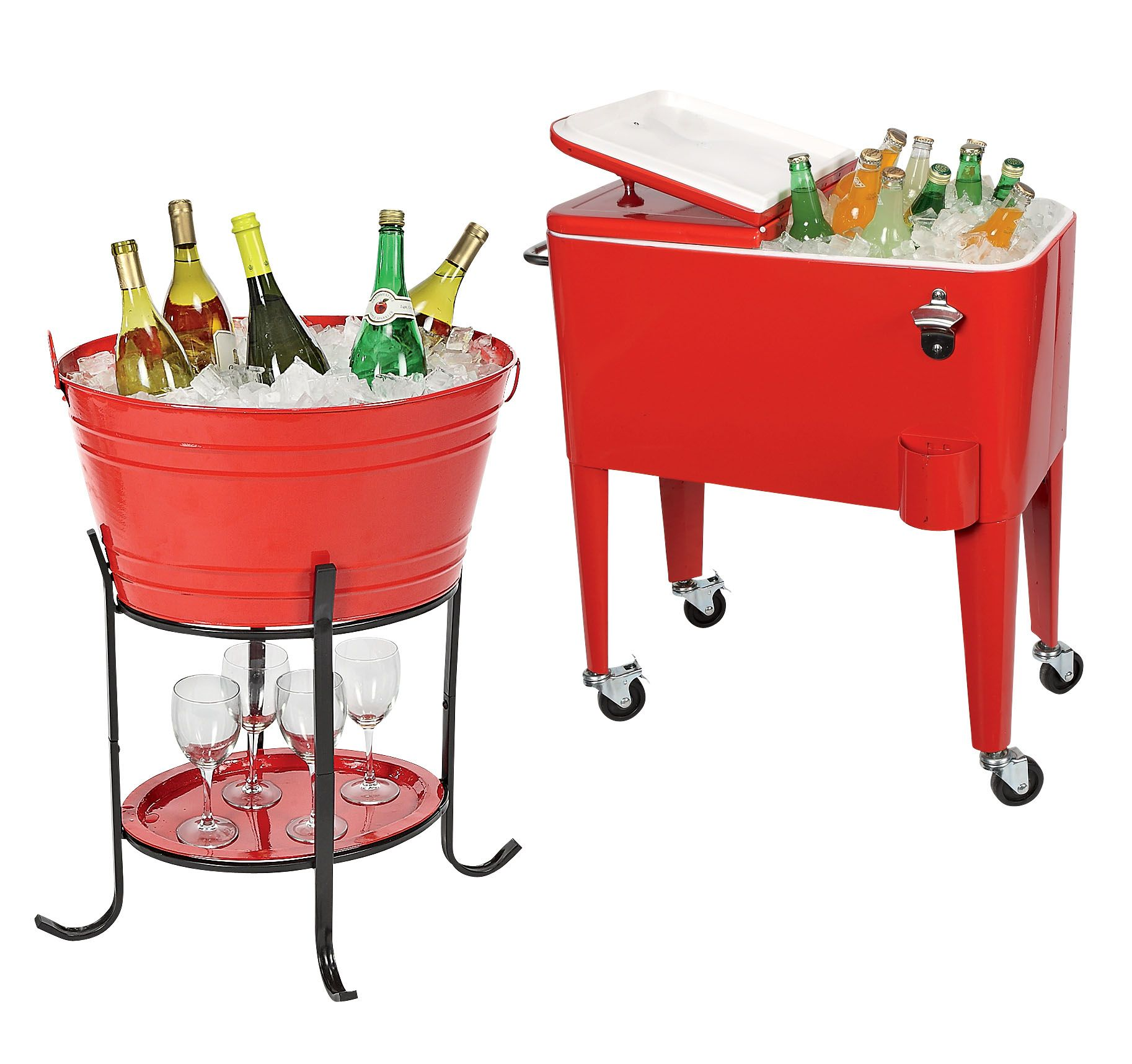A Party Tub Or Cooler Make The Perfect Accessory For Your Backyard