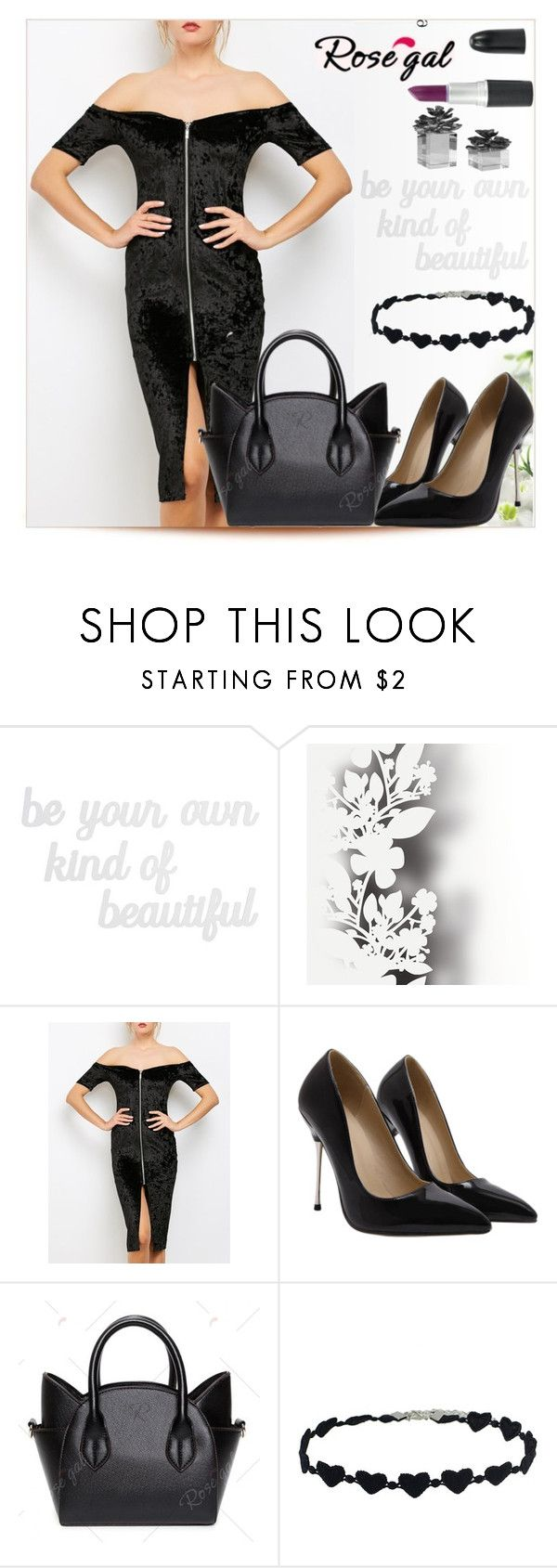 """""""I Feel Comfortable In Black"""" by emina-095 ❤ liked on Polyvore featuring PBteen and Élitis"""