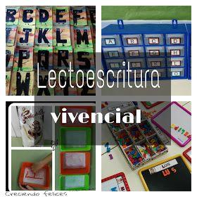 CRECIENDO FELICES: LECTOESCRITURA VIVENCIAL