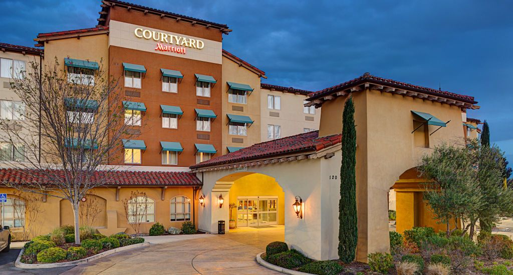 The Courtyard Paso Robles hotel is a new hotel in Paso