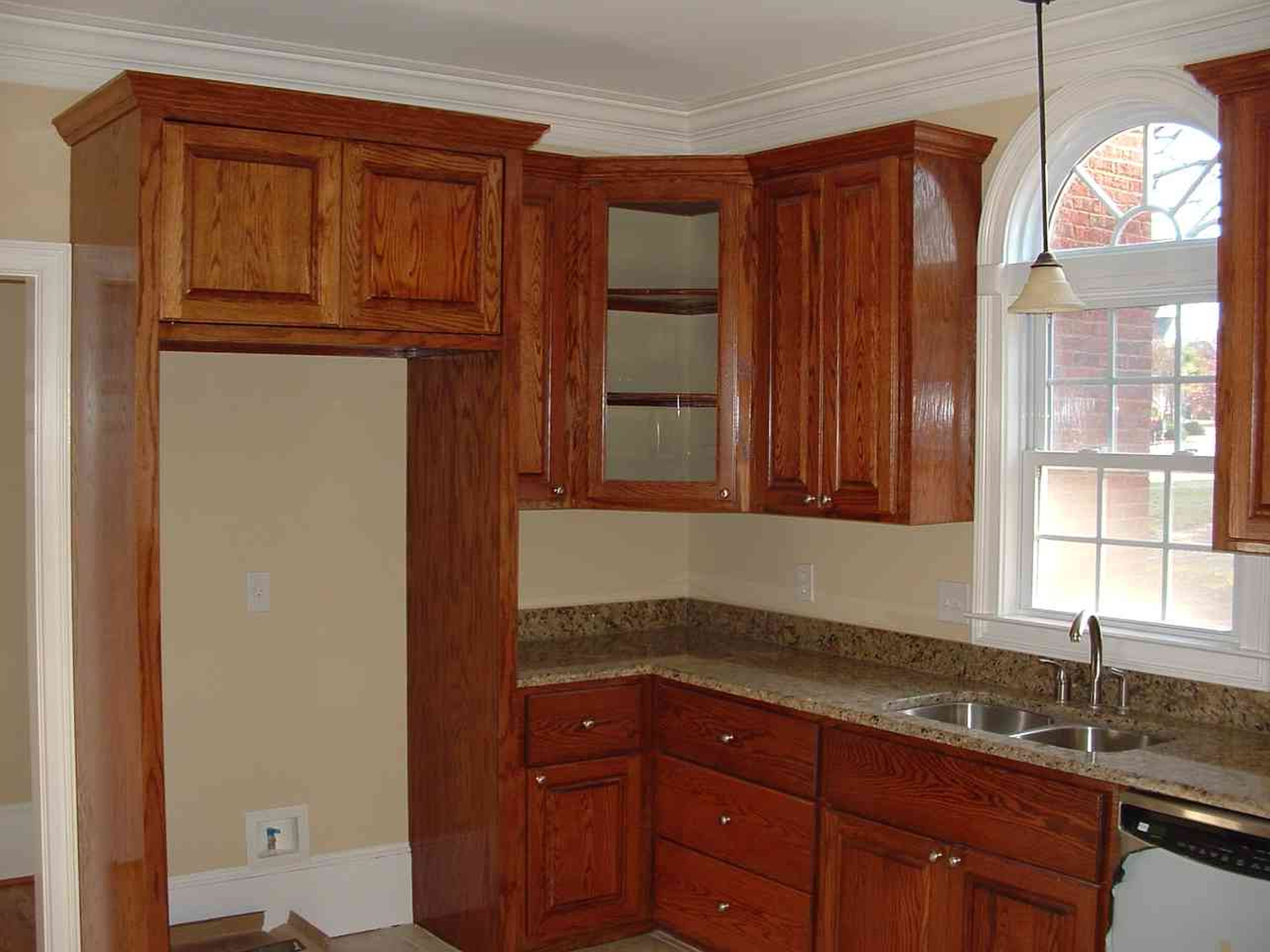 Configuration For Above Fridge And Corner West Wall Cabinet Placement Kitchen Cabinet Crown Molding Cheap Kitchen Cabinets Quality Kitchen Cabinets