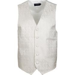 Photo of Profuomo Gilet Silk Off-White Profuomo