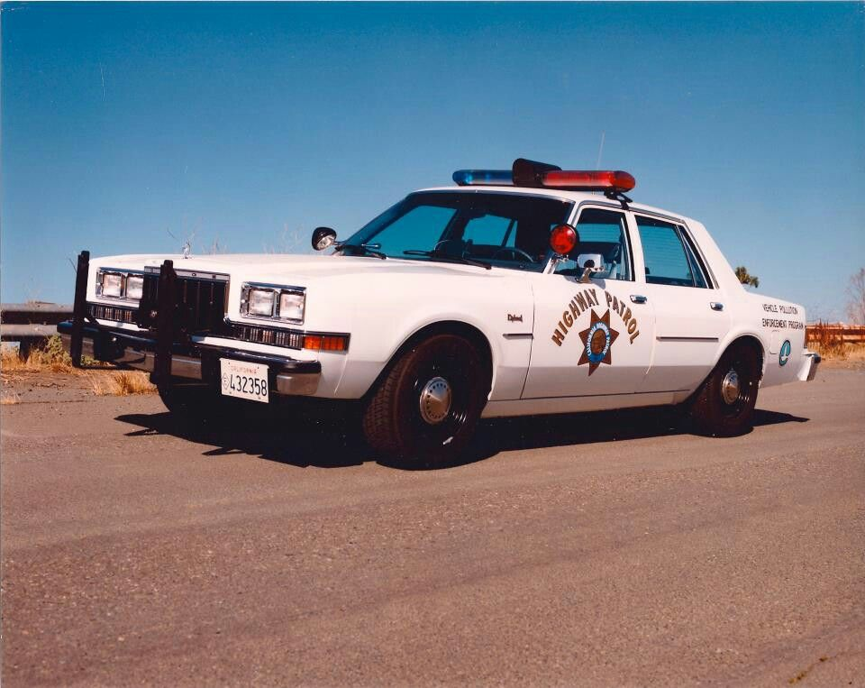 California Highway Patrol CHP : SMPV | police cars | Old