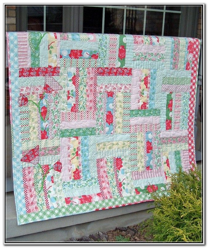 Jelly Roll Quilt Patterns Free Moda   Pattern : Crafts Image