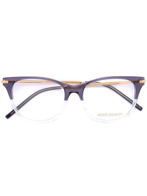 6f9472faff5 Boucheron rectangle frame glasses Womens Glasses Frames