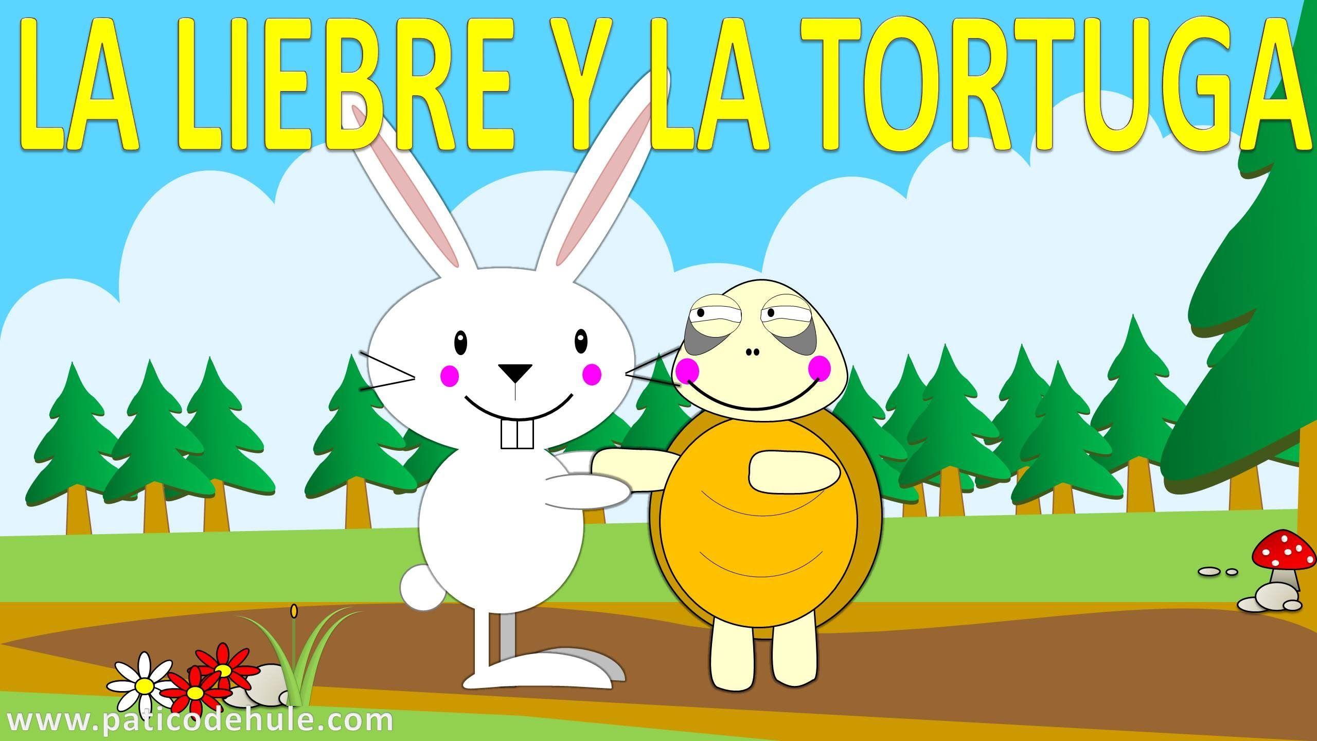 La liebre y la tortuga - fabulas para niños - cuento para niños ...