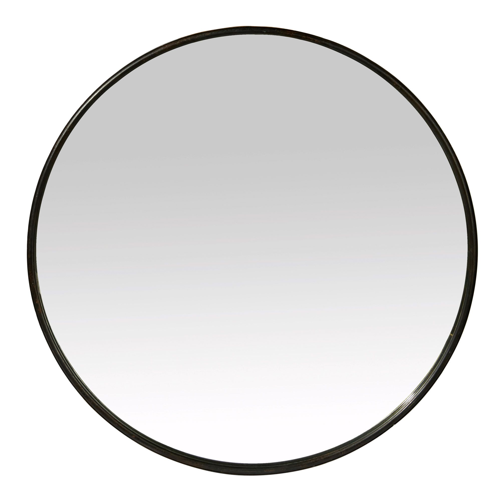 miroir rond mural en fer noir boudoir miroir rond boudoir et miroirs. Black Bedroom Furniture Sets. Home Design Ideas