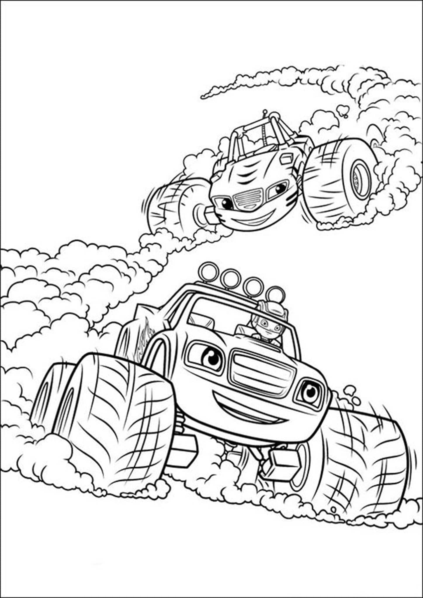 Free Easy To Print Monster Truck Coloring Pages Monster Truck Coloring Pages Monster Coloring Pages Truck Coloring Pages [ 2048 x 1448 Pixel ]