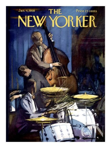 The New Yorker Cover - January 4, 1958 Poster Print by Arthur Getz ...
