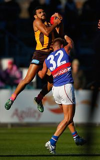 Just another day at the park for Cyril Rioli.