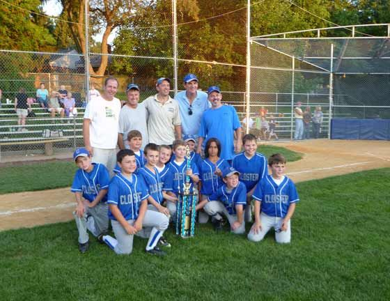 2011 Summer Closter 12u Baseball League Youth Baseball Soccer Field