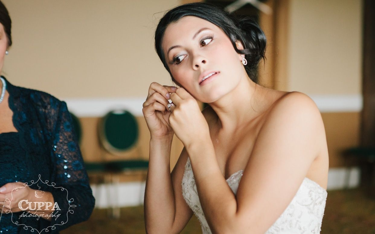 makeup by cynthia #teambride #maine 888-519-1118 | wedding hair
