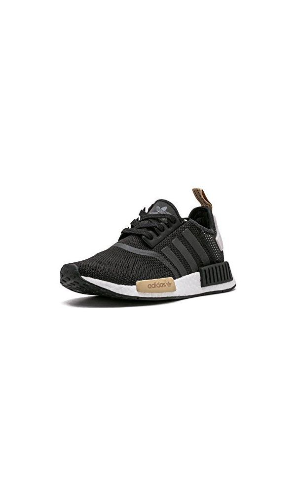 130 adidas donne \ \ \ 'nmd r1 scarpe neri / nero / viola 6 b