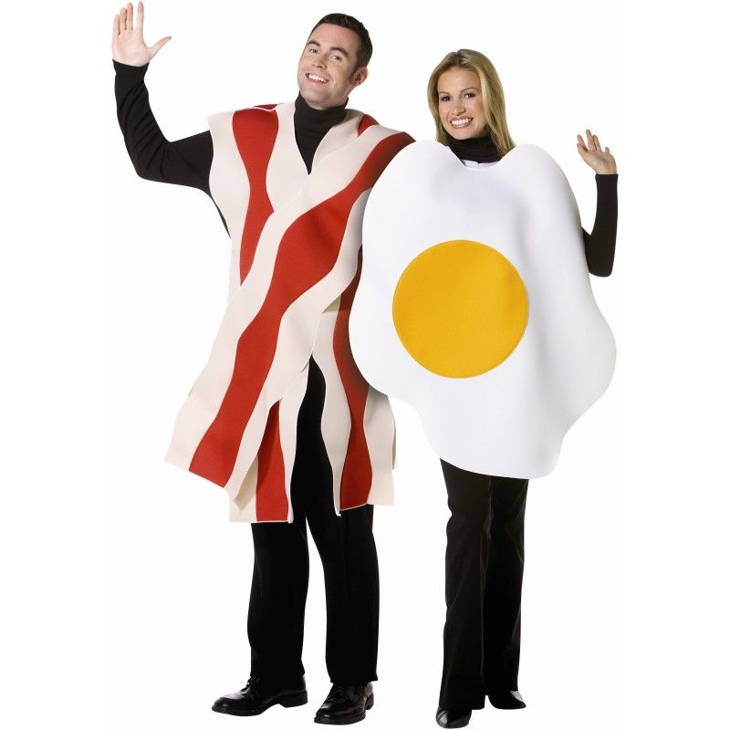 Couples Breakfast Costume - Bacon and Eggs from BuyCostumes.com #Food # Costumes #Funny  sc 1 st  Pinterest & Couples Breakfast Costume - Bacon and Eggs from BuyCostumes.com ...