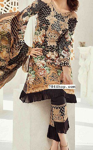 Black Lawn Suit   Buy Jahanara Fashion Dress is part of lawn Design Dress - Pakistani Dresses online shopping in USA, UK    Indian Pakistani Fashion clothes for sale with Free Shipping  Call +1 5123801085