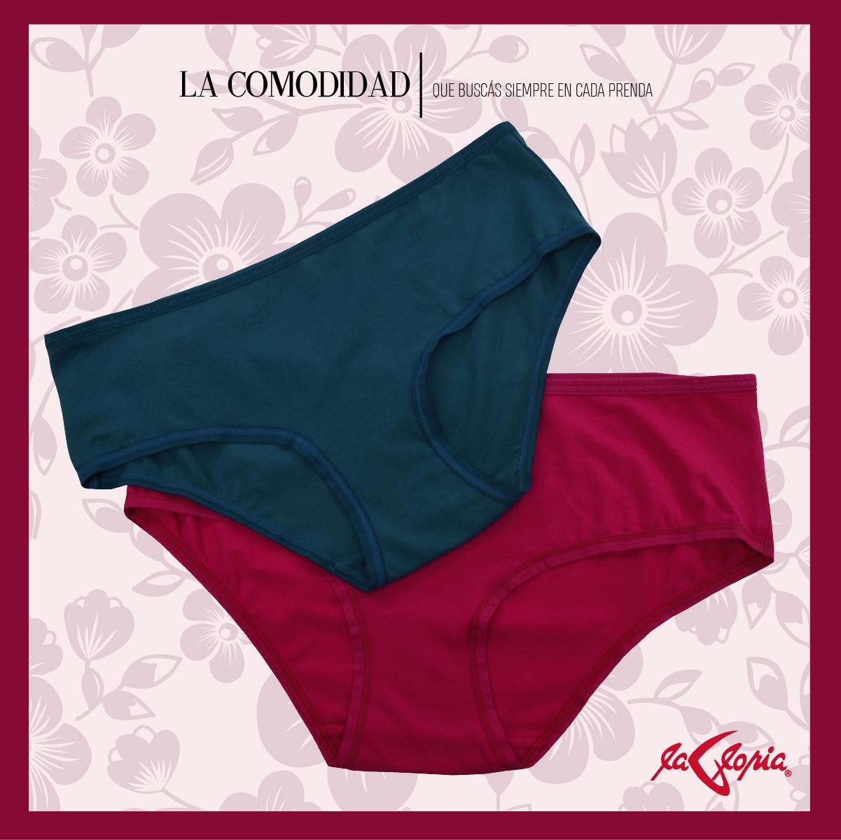 8b18100043f4 Panty de algodón, la suavidad de una prenda básica diaria , Lovable ...