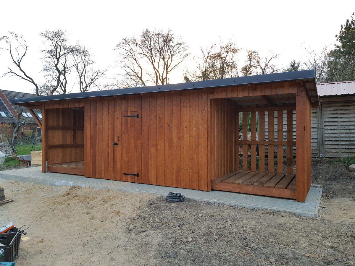 Pin von Ricarda Kleinfeld auf Garten in 2020 Holzlager