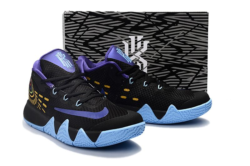 5dc7fe36c0d Officiel Newest Kyrie Irving 4 VI Club Purple Black Hornets