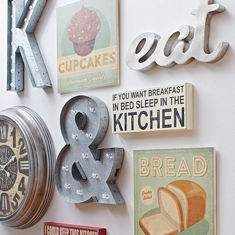Brilliant art pieces for your walls sponsored by nordstrom for Kitchen letters decoration