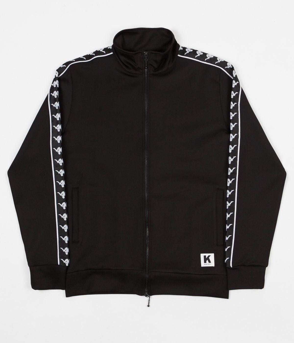7b82767f03675 Kappa Kontroll Banda Jacket - Black