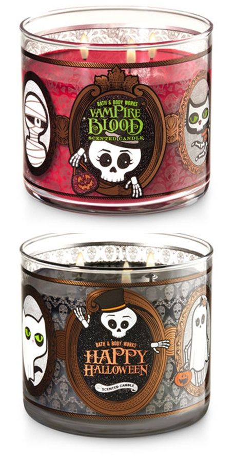 Bath Body Works Halloween 2017 Candles Launch Candles And Wax