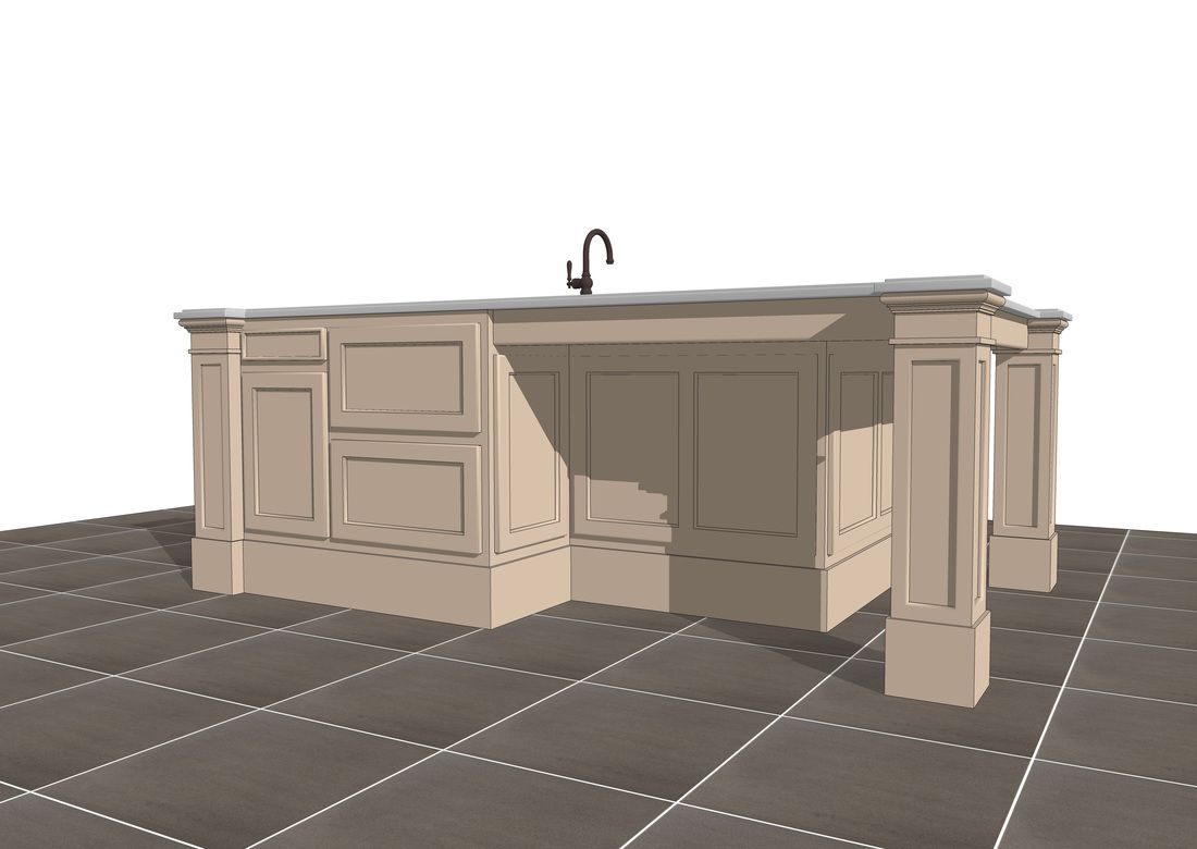 free 3d sketchup kitchen island counter models download sketchup free 3d sketchup kitchen island counter models download