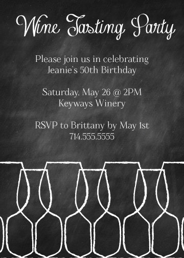 wine tasting party invitation bp3 in 2018 party wine and
