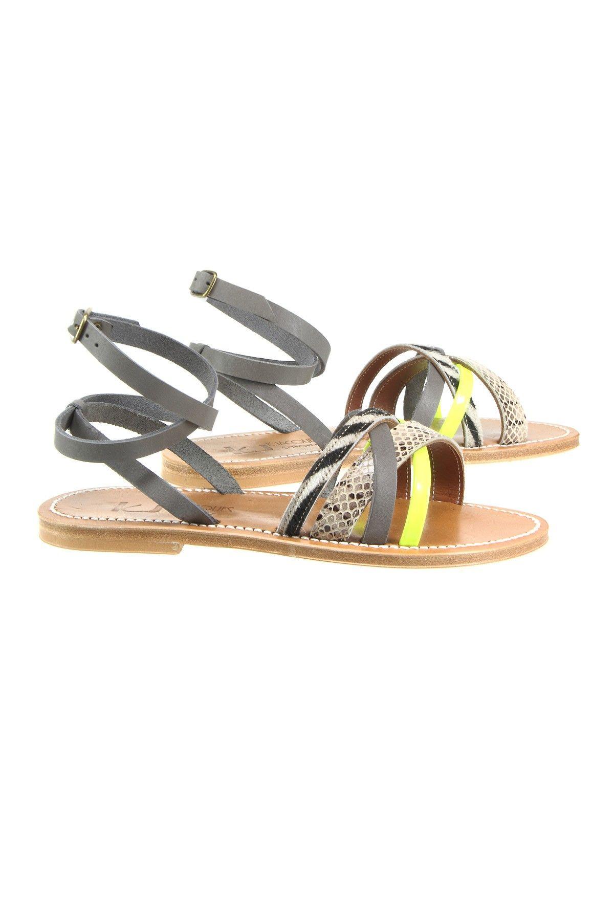 Sandales Galapagos Pul Gris - Kjacques