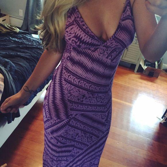 Jessica Simpson Maxi purple patterned JS maxi! perfect for summer Jessica Simpson Dresses Maxi