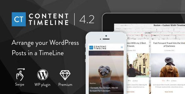 Content Timeline V Responsive WordPress Plugin For Displaying - Timeline blogger template