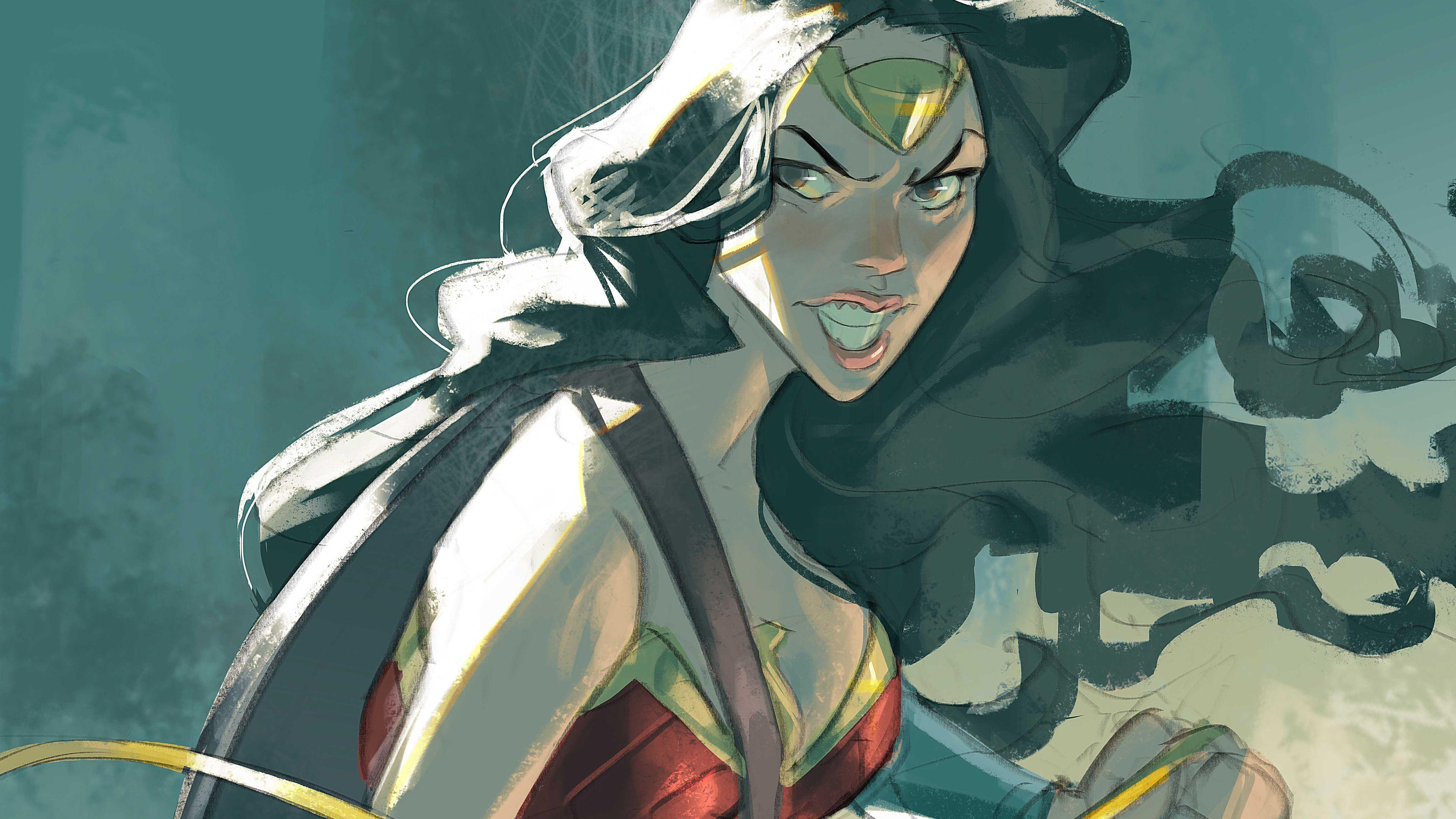 Wallpaper 4k Wonder Woman 5k Artwork 4kwallpapers, 5k
