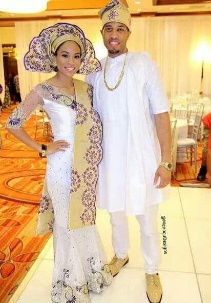 Pin von Michelle Davidson auf Nigerian Wedding & Gele Glamorous ...