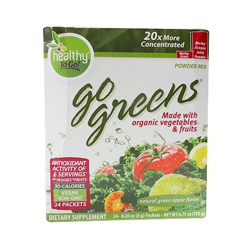 To Go Brands Go Greens, 24 Count Boxes, Net Wt. 6.75oz ** Visit the image link more details.